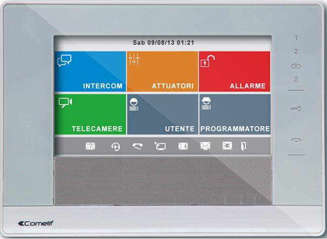 7Stelle. Цветной монитор IP домофон.