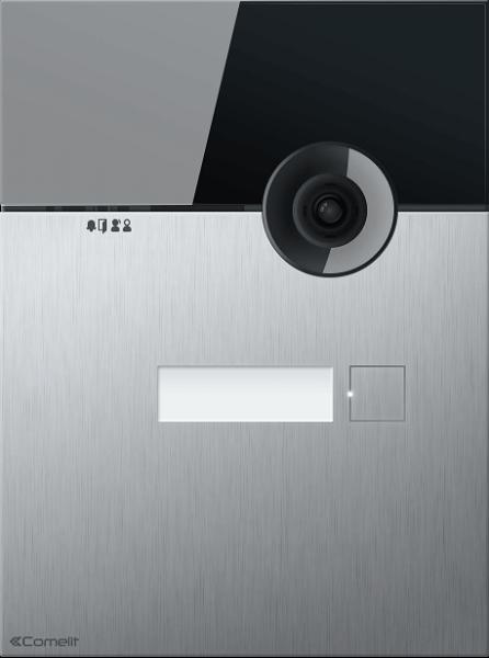 Видеопанель Comelit серии 316 с 1 кнопкой, встроенная, VIP