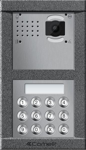 Vandalcom - многоквартирная антивандальная вызывная панель IP домофон.
