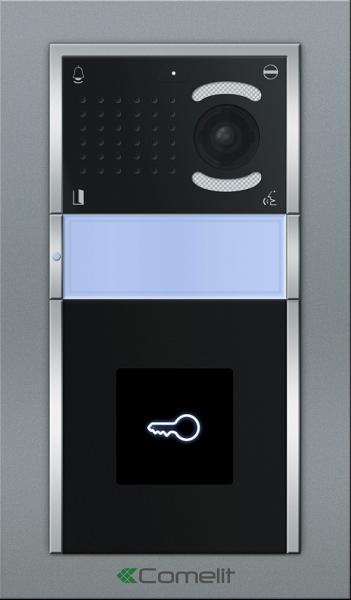 IP Вызывная панель Comelit IKALL с 1 кнопкой со считывателем VIP