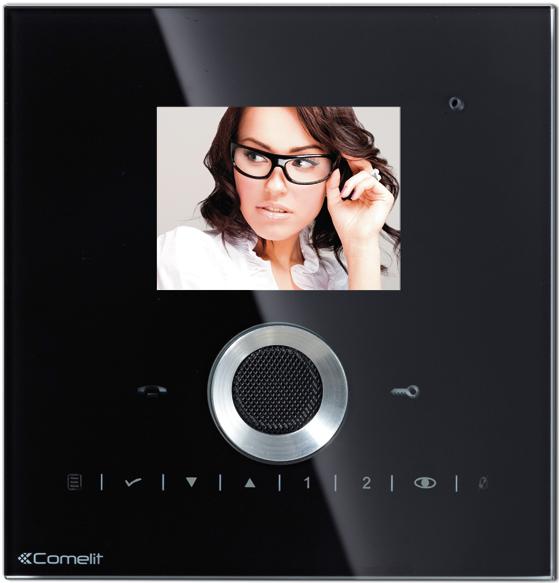 Planux Lux. Цветной монитор IP домофон.