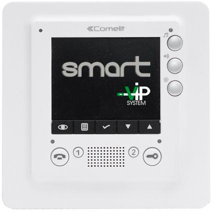 Smart. Цветной IP видеомонитор.
