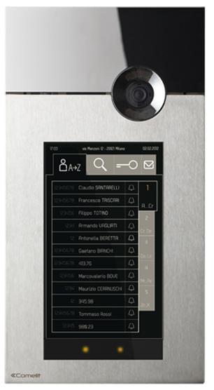 Touch 316 - вызывная панель с сенсорным дисплеем IP домофон.