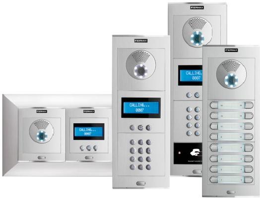 SKYLINE - многоквартирные вызывные   панель IP домофон.